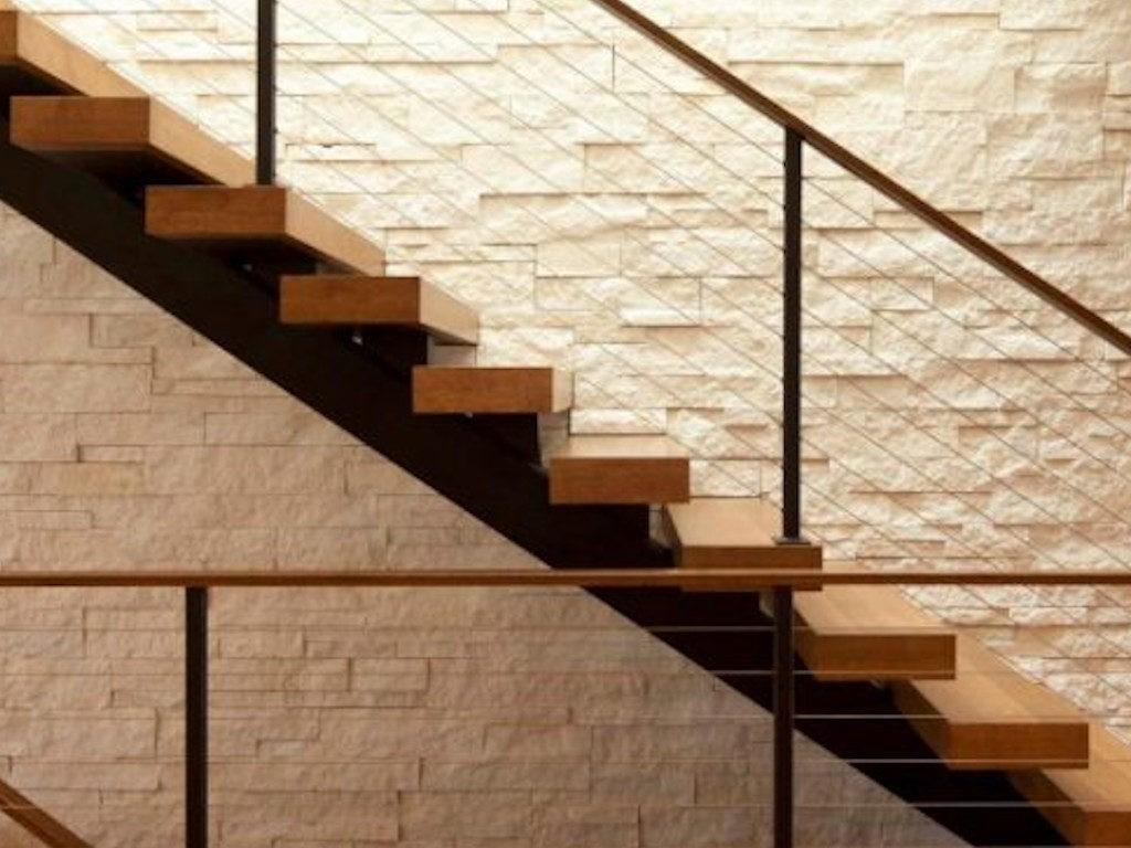 Лестница на косоуре - вид сбоку