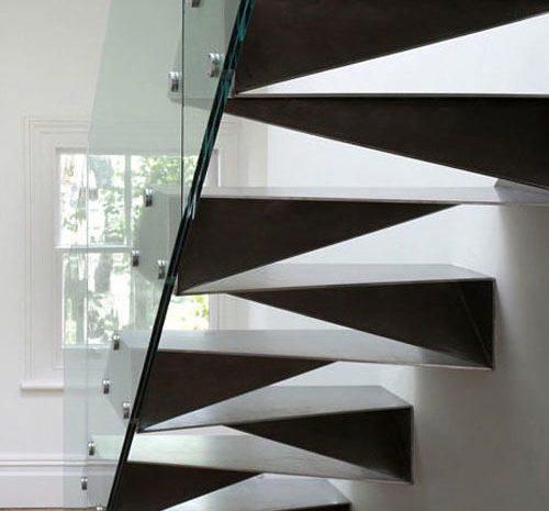 Производство лестниц из нержавеющей стали