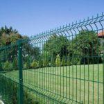 3д забор возле частного дома