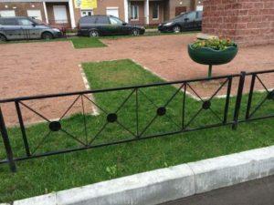 маленькие газонные заборчики