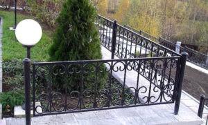 забор для клумбы 1