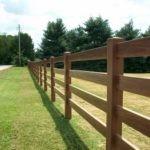 забор для ограждения ранчо