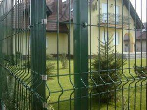 металло забор из рабицы