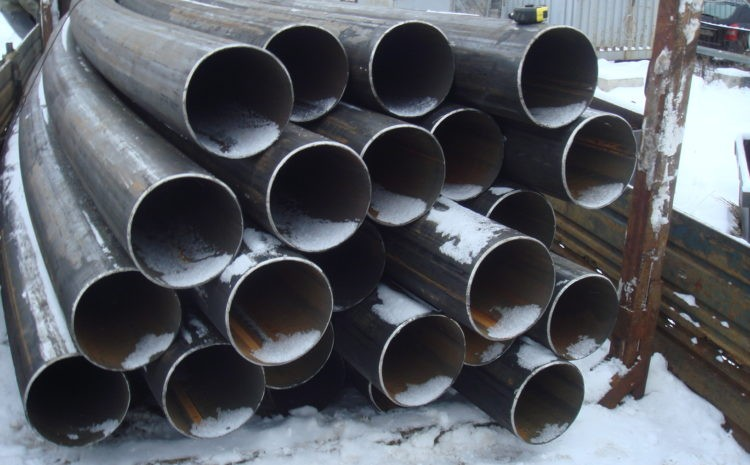 Порезанные круглые трубы