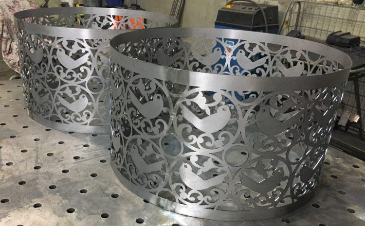 Гидрообразивная резка по металлу