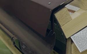 Капельник конденсата для металлочерепицы
