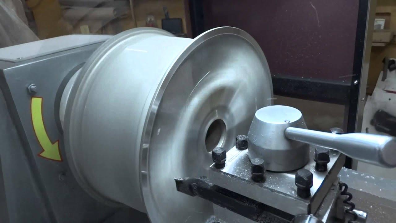 Проточка колесных дисков
