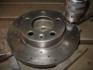 Фрезерование тормозных дисков