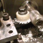 Изготовление шестерни на токарном станке