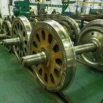 Изготовление вагонных колес