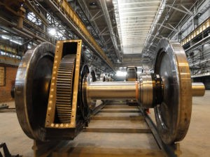 Производство вагонных колес