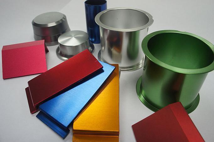 оксидировка изделий из алюминия на заказ