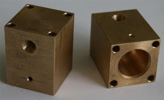 Производство деталей из латуни