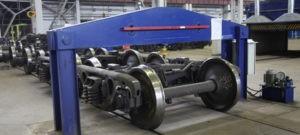 Изготовление колесных пар для вагонов