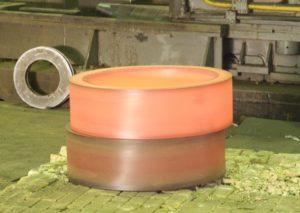Изготовление раскатных колец