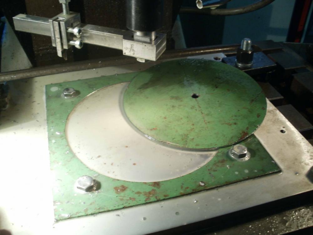 Сверление больших отверстий в металле