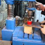 Сверление отверстий в металле коронкой