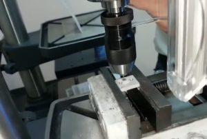Сверление отверстий малого диаметра в металле