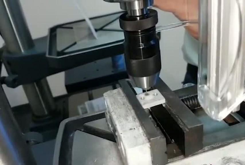Сверление отверстий малого диаметра