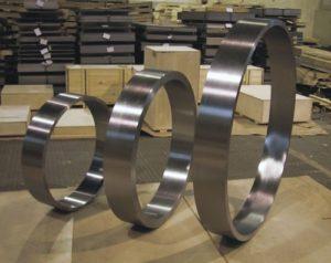 Изготовление раскатных колец на заказ