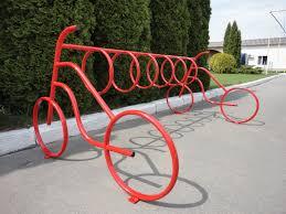 Велопарковка из металла