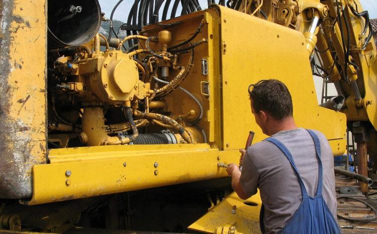 ремонт гидравлики экскаватора на заказ