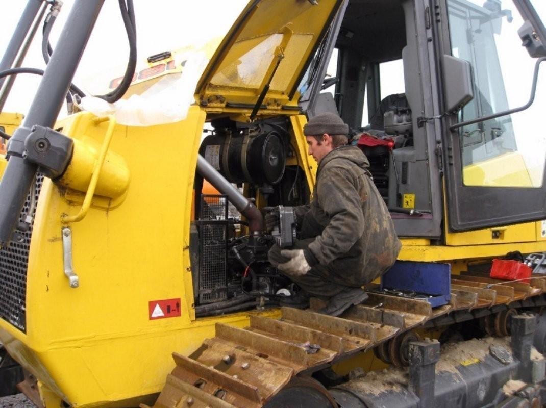 ремонт гидравлической системы экскаватора на заказ