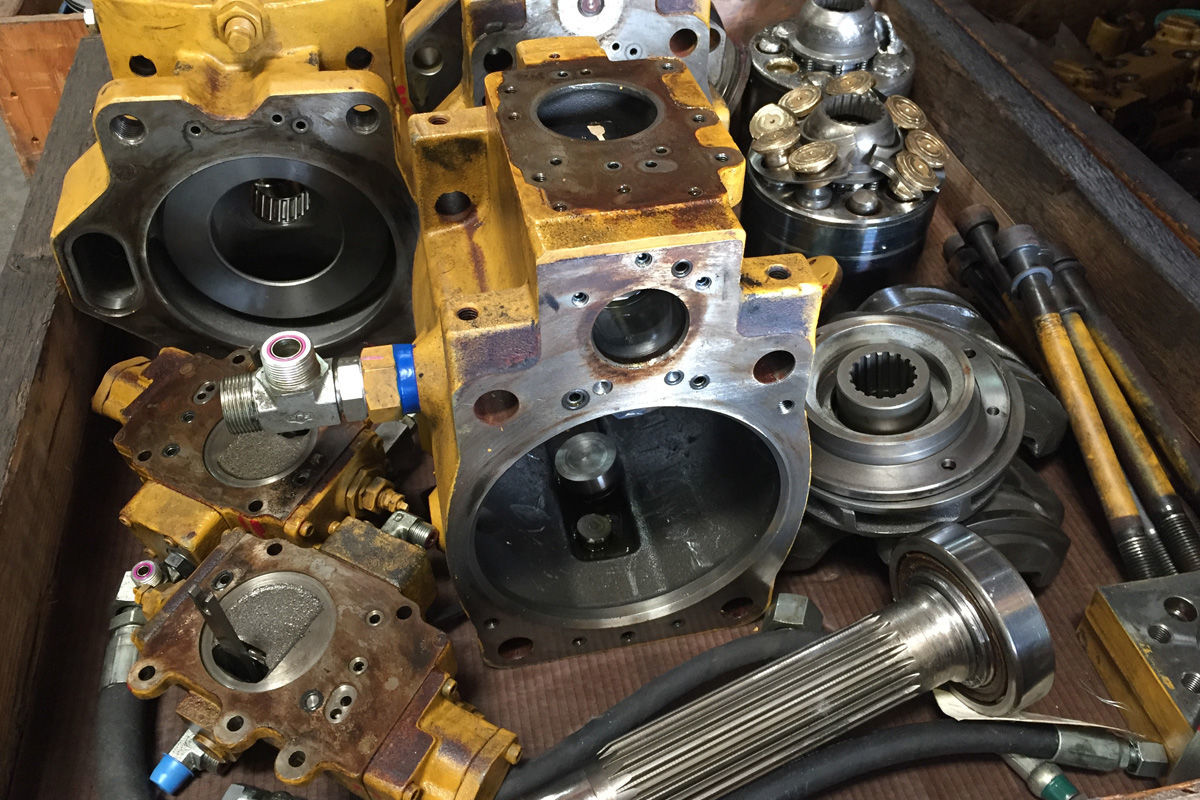 ремонт гидромоторов на заказ