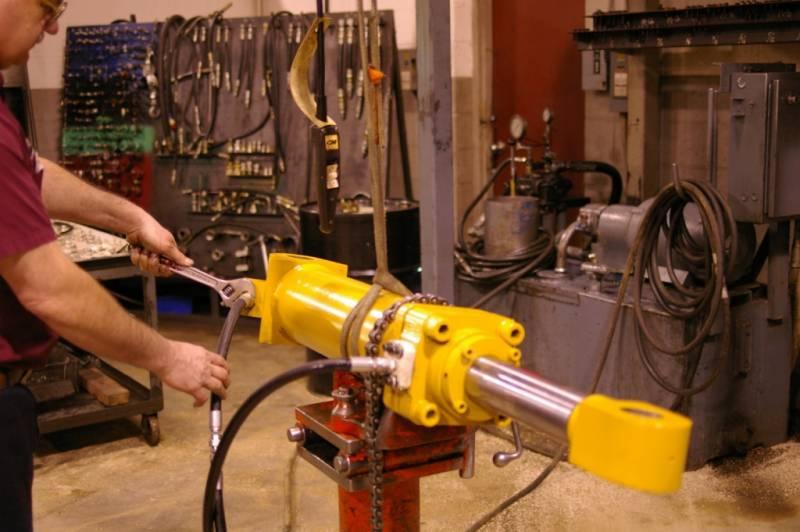 ремонт гидравлики на заказ