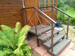 металлические лестницы на дачу на заказ