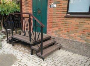 лестницы из металла на дачу на заказ