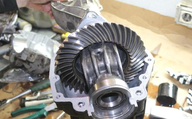 ремонт переднего редуктора на заказ