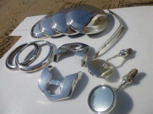 Покрытие алюминия хромом