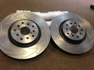 Перфорация тормозных дисков