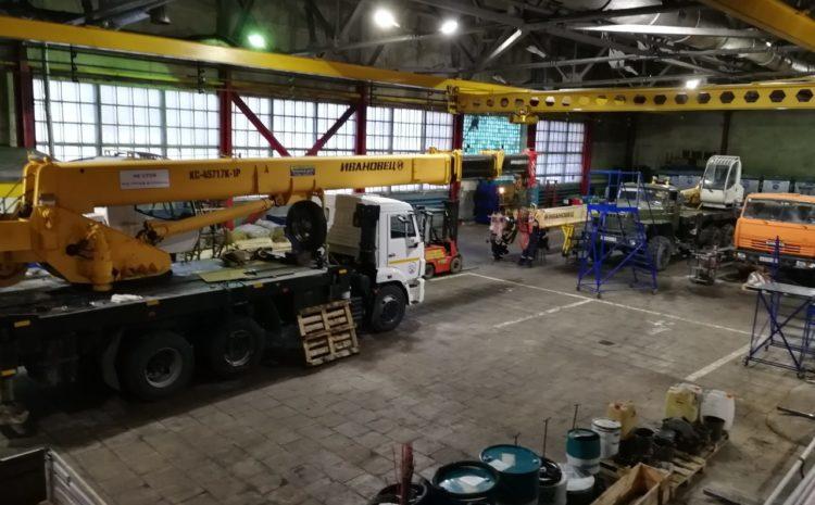 заказать ремонт автомобильных кранов