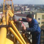 ремонт башенных кранов на заказ