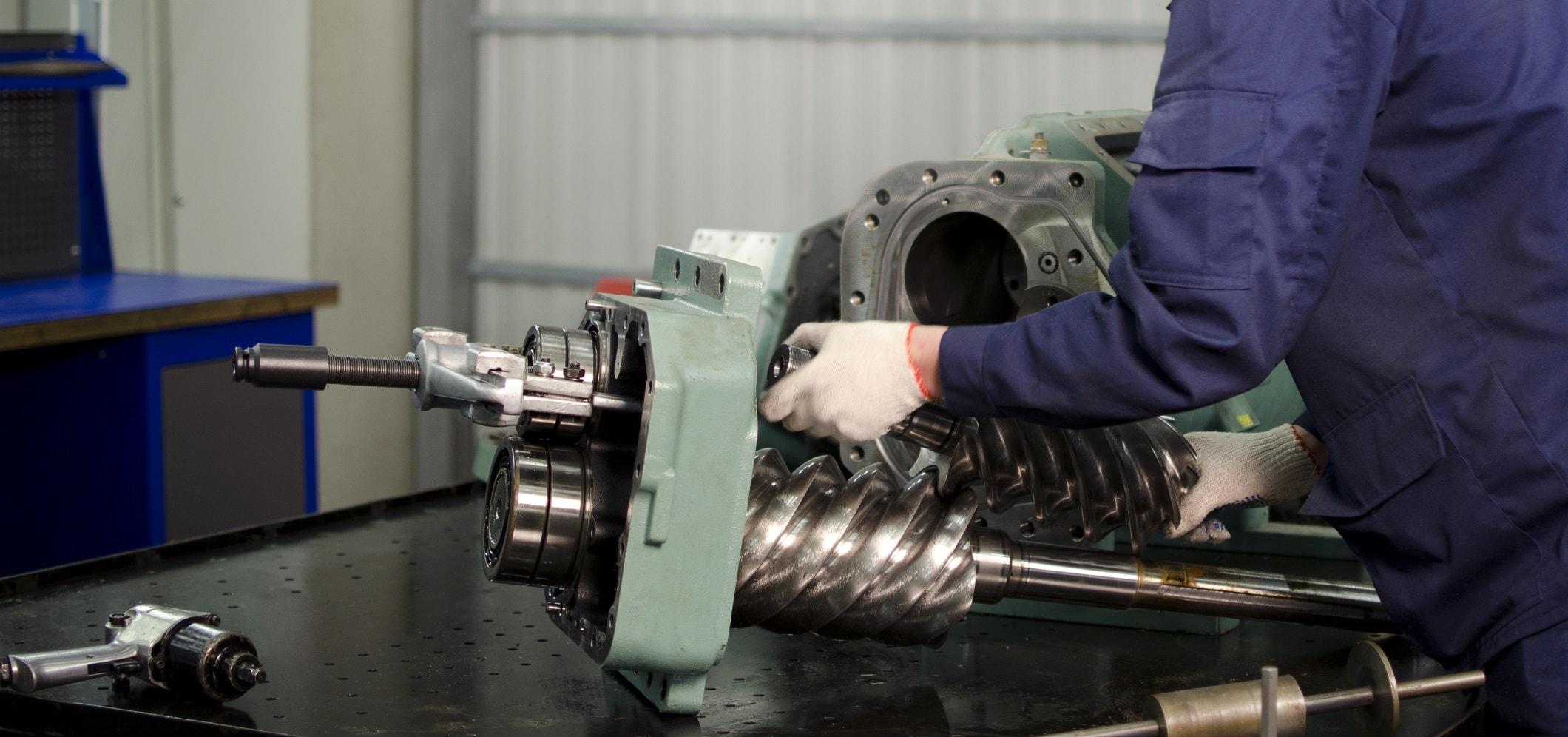 ремонт промышленного компрессорного оборудования на заказ