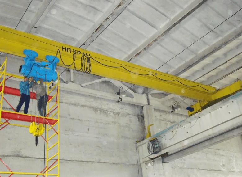 Кран балка ремонт