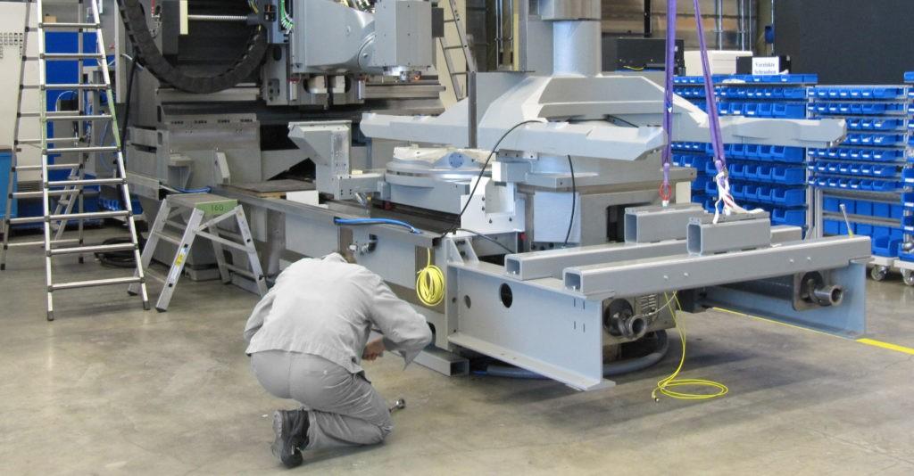 ремонт металлообрабатывающего оборудования на заказ