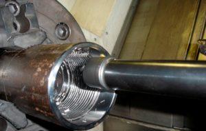 нарезание резьбы на трубах