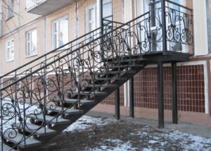 уличная лестница на заказ