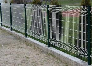 забор из металлической сетки на заказ