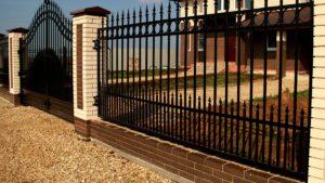 металлический забор на заказ