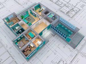 3d проектирование интерьера на заказ