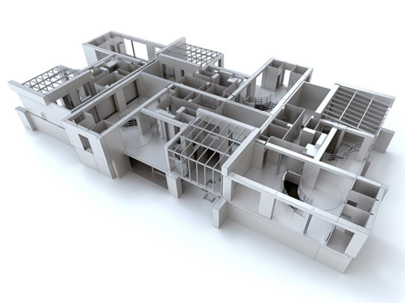 3 д моделирование зданий на заказ