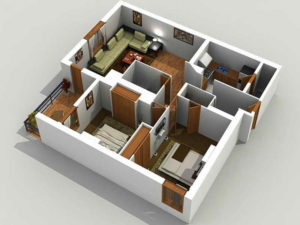 3d моделирование домов на заказ