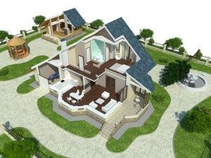 3 d проектирование домов на заказ