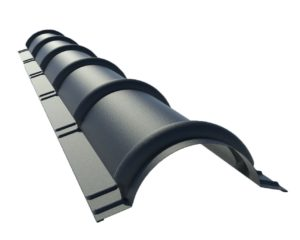 Коньковая планка для металлочерепицы