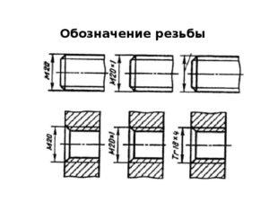 разработка чертежей резьбы на заказ