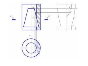 чертеж цилиндра на заказ